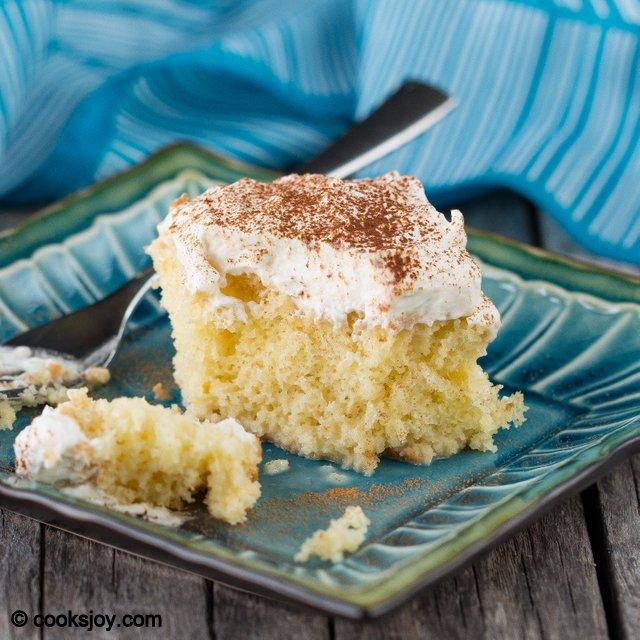 Three Milk Cake | Cooks Joy