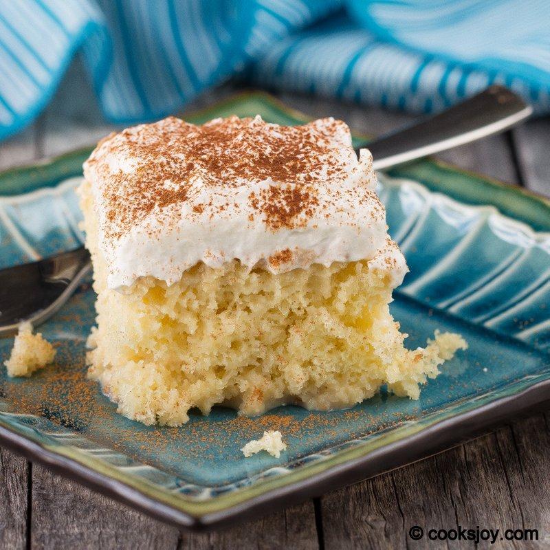 Cooks Joy - Tres Leches Cake (3 Milk Cake)