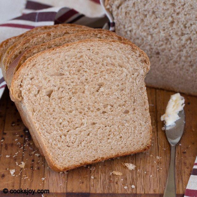 Wheat Sandwich Bread | Cooks Joy