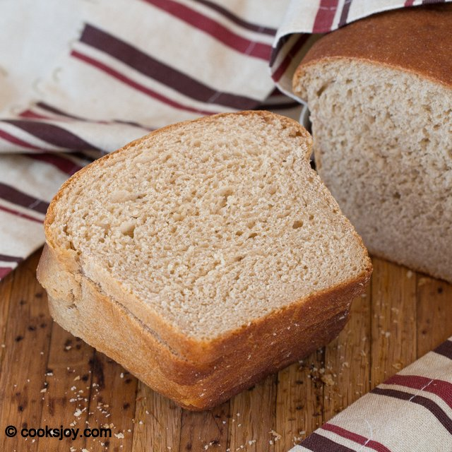 Whole Wheat Sandwich Bread | Cooks Joy