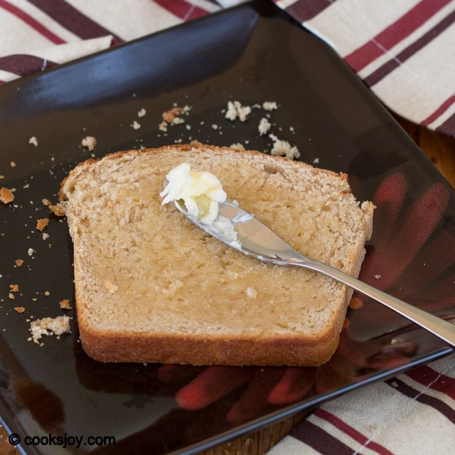 Whole Wheat Sandwich Bread | Cooks Joy