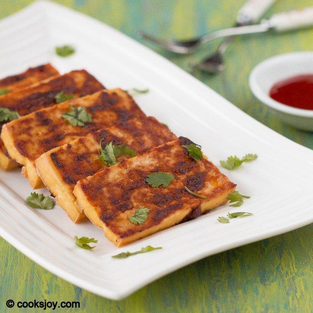Spicy Baked Tofu | Cooks Joy
