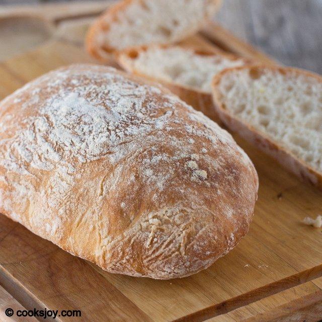 Cooks Joy - Quick Coccodrillo Ciabatta Bread