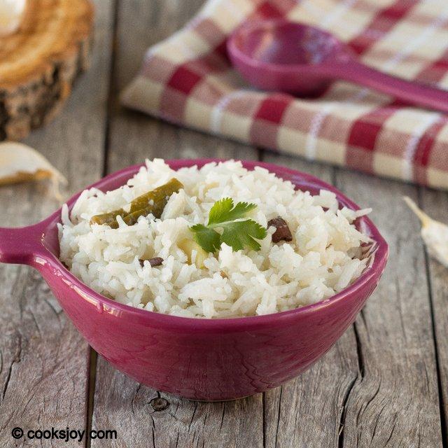 Coconut Milk Rice | Cooks Joy