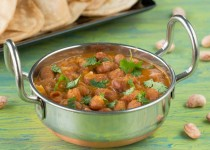 Cranberry Bean Masala (Gravy)