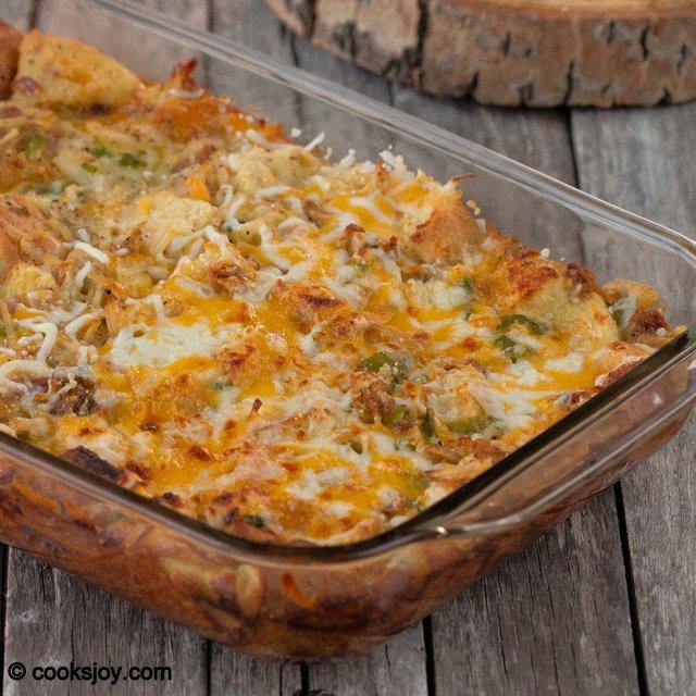 Egg Casserole | Cooks Joy