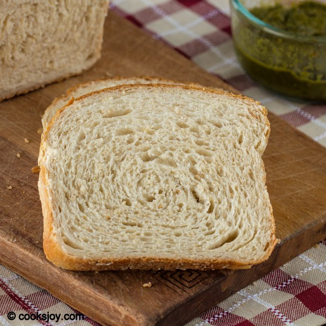 Oatmeal White Bread | Cooks Joy