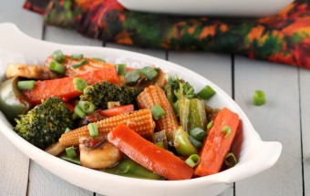 Vegetables in Hot Garlic Sauce | Cooks Joy