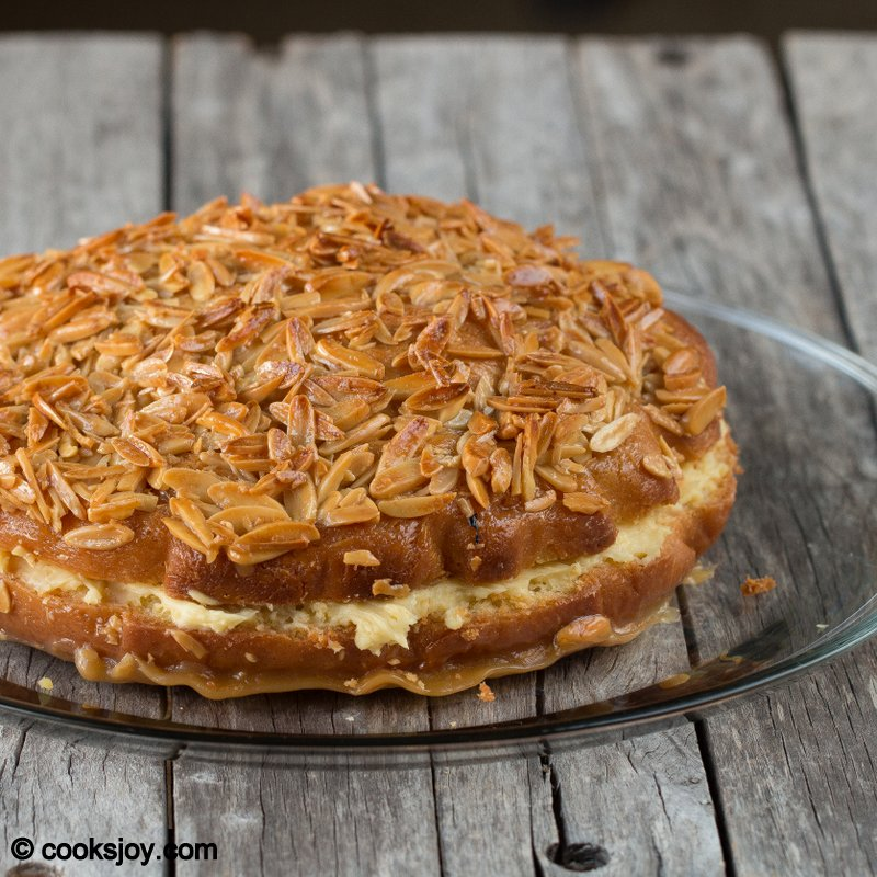 Cooks Joy - Bienenstich Kuchen (German Bee Sting Cake)