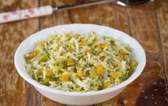 Broccoli Lentil Rice | Cooks Joy