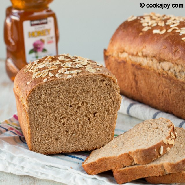 Whole Wheat Honey Bread | Cooks Joy