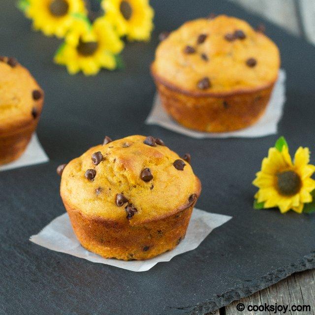 Mango Chocolate Muffin | Cooks Joy