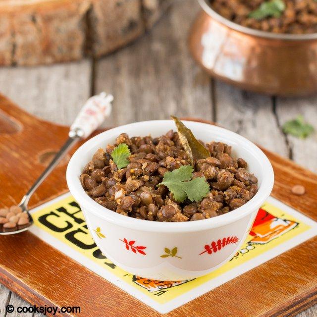 Whole Masoor Sundal | Cooks Joy