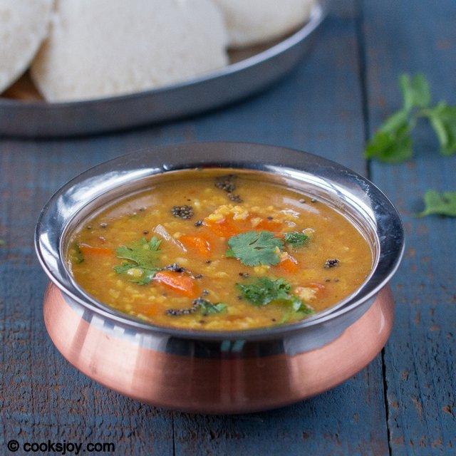 Moong Dal Sambar | Cooks Joy
