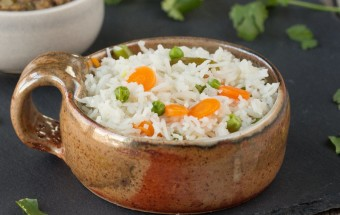 Simple Vegetable Rice | Cooks Joy