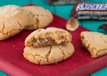 Snicker Bar Cookies
