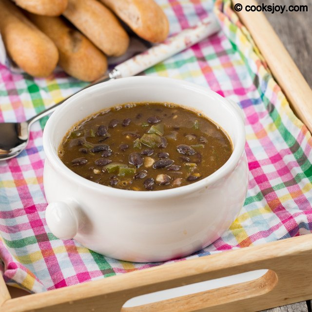 Black Beans Soup | Cooks Joy