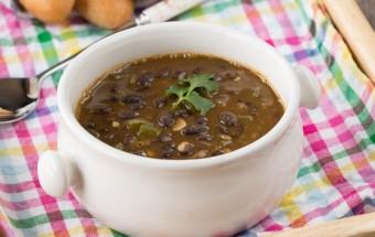 Black Bean Soup | Cooks Joy