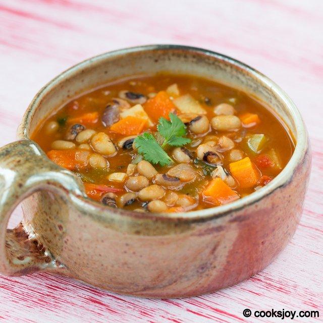 Black Eyed Peas Soup | Cooks Joy