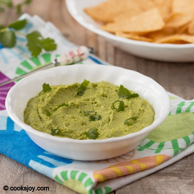 Cilantro Jalapeno Hummus | Cooks Joy