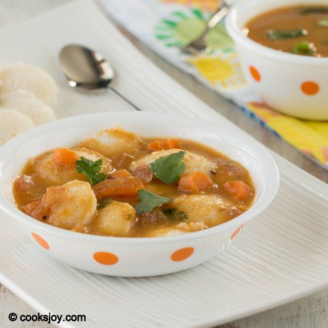 Instant Pottukadalai Sambar | Cooks Joy