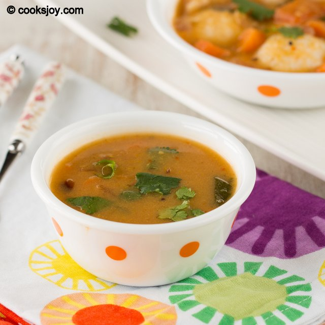 Pottukadalai Sambar | Cooks Joy