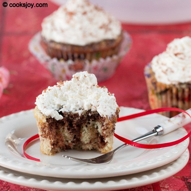 Marble Cupcakes | Cooks Joy