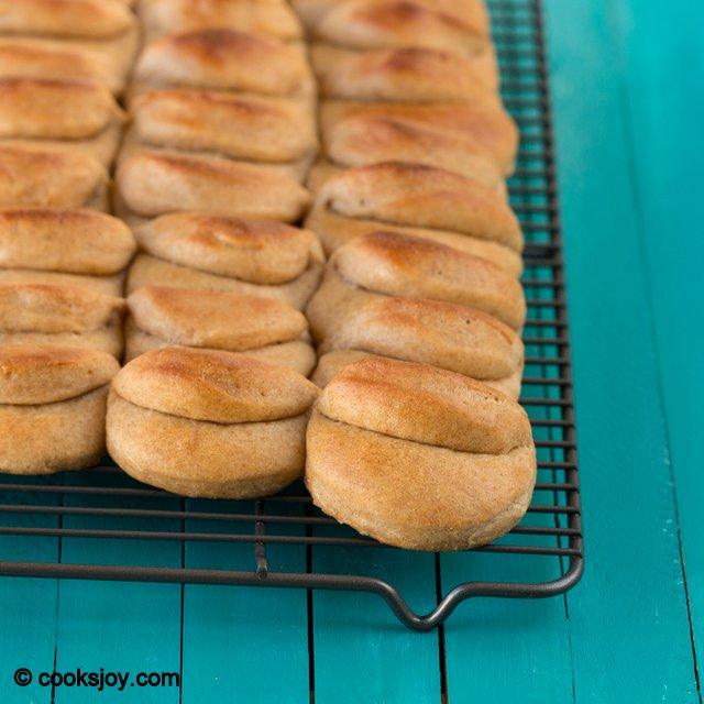 Whole Wheat Parker House Rolls | Cooks Joy