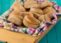 Whole Wheat Parker House Rolls
