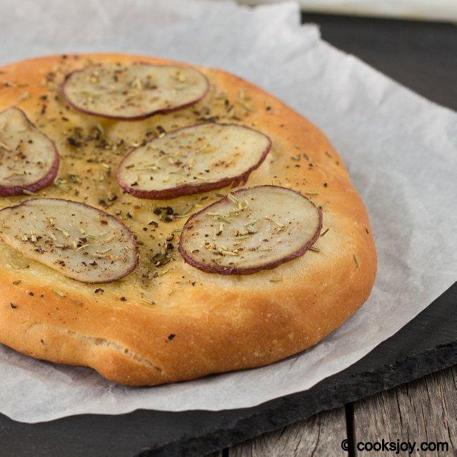 Potato Focaccia Pugliese | Cooks Joy