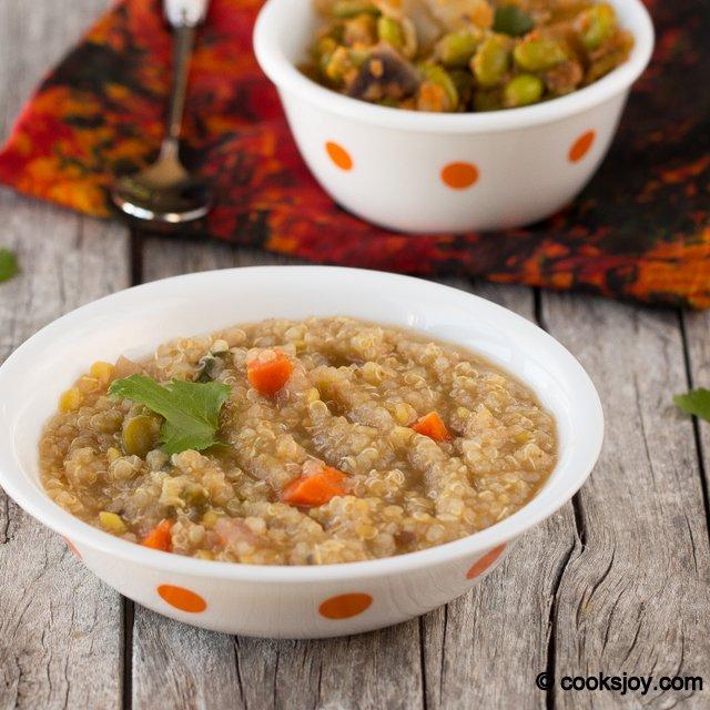 Quinoa Bisibelabath | Cooks Joy