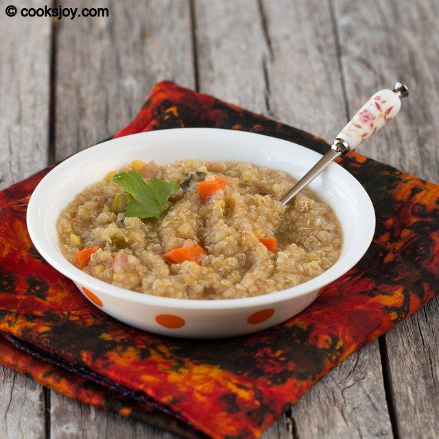Quinoa Sambar Rice | Cooks Joy