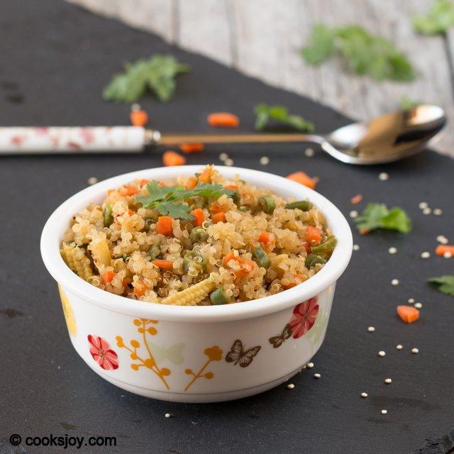 Quinoa Fried Rice | Cooks Joy