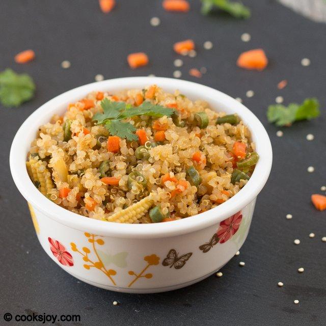 Chinese Style Quinoa | Cooks Joy