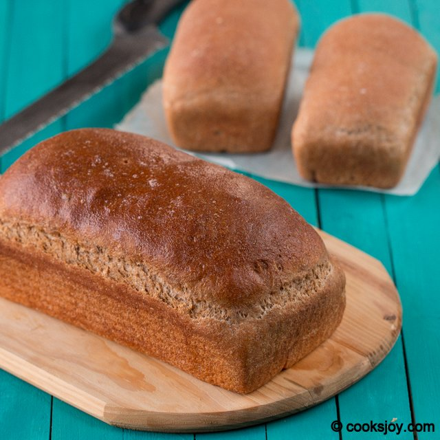 Shellys Whole Wheat Bread   Cooks Joy
