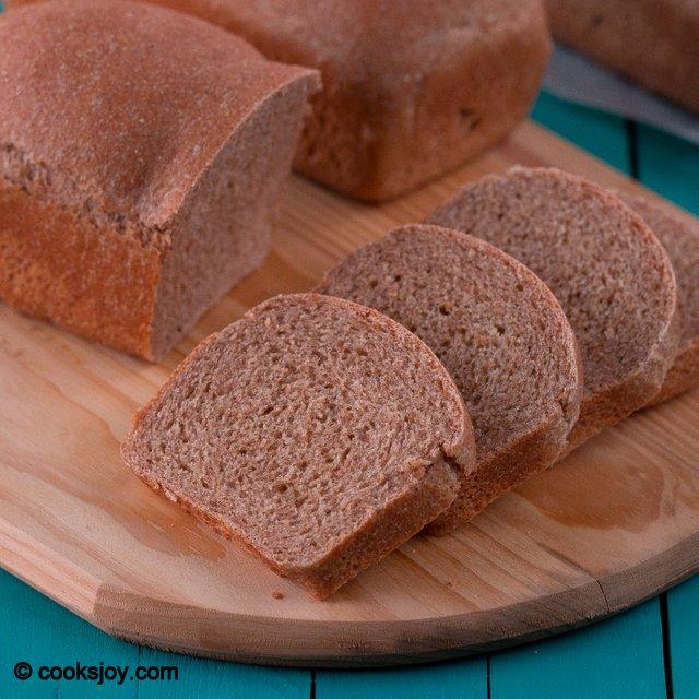 Whole Wheat Bread   Cooks Joy