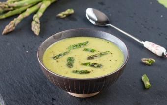 Asparagus Garbanzo Soup | Cooks Joy