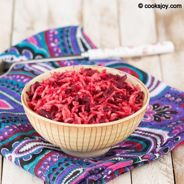 Beetroot Rice | Cooks Joy