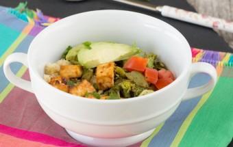 Quinoa Tofu Bowl | Cooks Joy