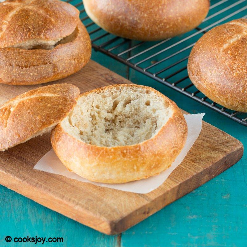 Cooks Joy - Artisan Bread Bowls
