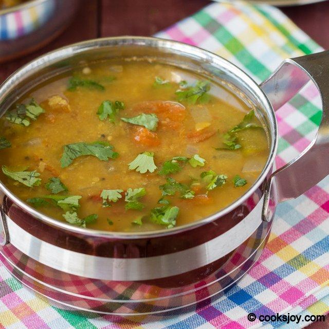 Okra Sambar | Cooks Joy