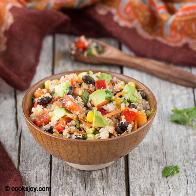 Quinoa Corn Bean Salad | Cooks Joy