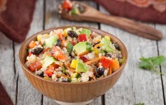 Quinoa Corn Black Bean Salad | Cooks Joy