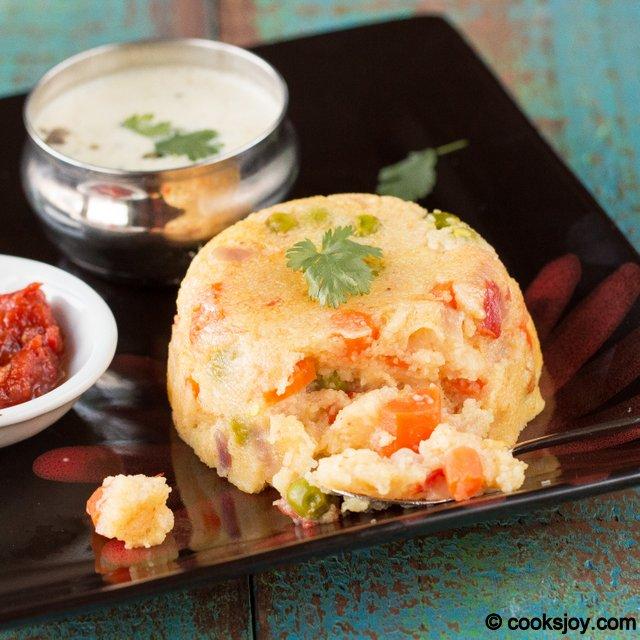 Rava Khichidi (Sooji / Semolina) | Cooks Joy