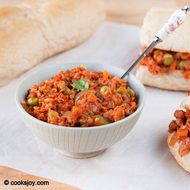 Vegan Soya Sloppy Joes | Cooks Joy