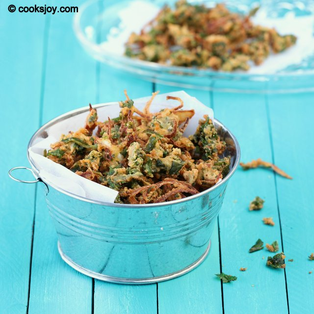 Vengaya Thool Pakoda | Cooks Joy