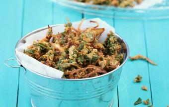 Spinach Onion Thool Pakoda | Cooks Joy