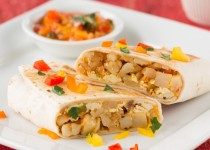 Tofu Potato Breakfast Burrito
