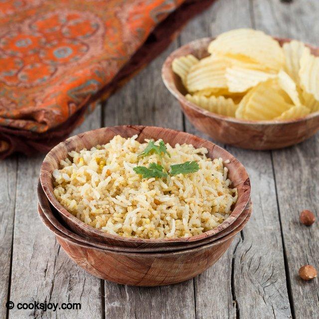 Peanut Rice | Cooks Joy