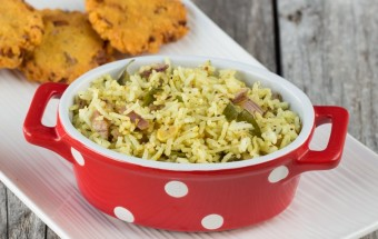 Pepper Garlic Rice | Cooks Joy
